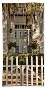 Beautiful Entryway On The Isle Of Hope Bath Towel