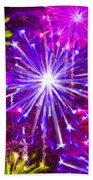Beautiful Fireworks  6 Hand Towel