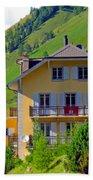 Beautiful House In Mont Blanc Bath Towel