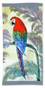 Beautiful Parrot For Someone Special Bath Towel