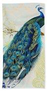 Beautiful Peacock-a Bath Towel
