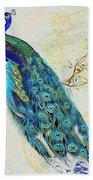 Beautiful Peacock-b Bath Towel