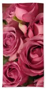 Beautiful Pink Roses 6 Bath Towel