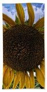 Beautiful Sunflower Bath Towel