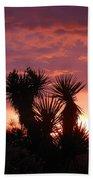 Beautiful Sunset In Arizona Bath Sheet