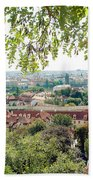 Beautiful View Of Prague Bath Towel