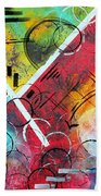 Beauty Amongst The Chaos By Madart Bath Towel