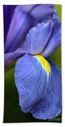 Beauty Of Iris Bath Towel