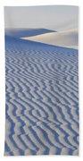 Patterns White Sands New Mexico Bath Towel