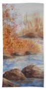 Beaver Pond Bath Towel
