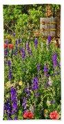 Becker Vineyards' Flower Garden Bath Towel
