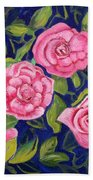 Bed Of Roses Bath Towel