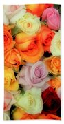 Bed Of Roses Bath Towel