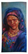 Bedouin Woman Bath Towel