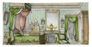 Bedroom In The Renaissance Style Hand Towel