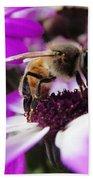 Bee Happy Bath Towel