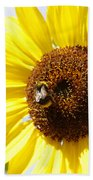 Bee On Flower Hand Towel