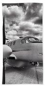 Beechcraft C-12 Huron Bath Towel