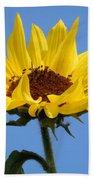 Bright Yellow Happy Sunshine Bath Sheet
