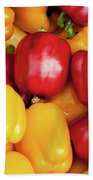 Bell Peppers Bath Towel