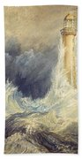 Bell Rock Lighthouse Bath Towel