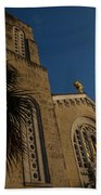Bell Tower At St Sophia Bath Towel