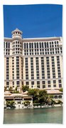 Bellagio Resort And Casino Panoramic Hand Towel