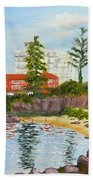 Belmore Basin From The North Sea Wall Bath Towel