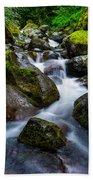 Below Rainier Bath Towel