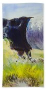 Belted Galloway Cow Bath Towel