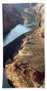 Bend In The Colorado River Bath Towel