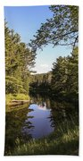Bend In The River Bath Towel