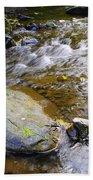 Bending Between The Rocks Hand Towel