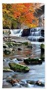 Berea Falls Ohio Bath Towel