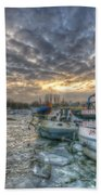 Berlin Ships Bath Towel