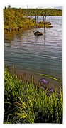 Berry Hill Pond In Gros Morne Np-nl Bath Towel