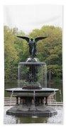 Bethesda Fountain Central Park Nyc Bath Towel