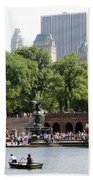 Bethesda Terrace And Fountian Nyc Bath Towel