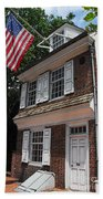Betsy Ross House Bath Towel