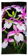 'betty' Orchid Bath Towel