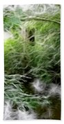 Phallic In The Grass Hand Towel