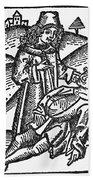Bezoar Stone, 1491 Bath Towel