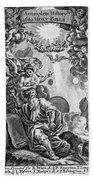 Bible History, 1752 Hand Towel