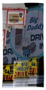 Big Daddy's Drive Inn Auburn Wa Bath Towel