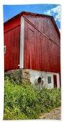 Big Red Barn Bath Towel