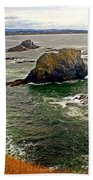 Big Rock Beach Bath Towel