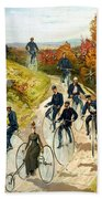 Big Wheel Bicycles Bath Towel