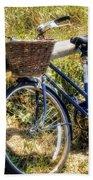 Bike At Nantucket Beach Bath Towel