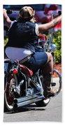 Bike Week Bath Towel