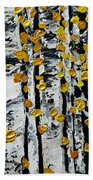 Birch Study Fall Bath Towel